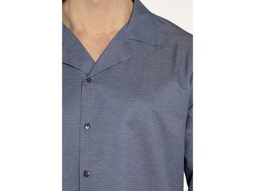 Masculine Dokuma Pijama Takımı S Mavi