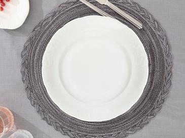 Krina Porselen Servıs Tabağı 26 Cm Açık Krem