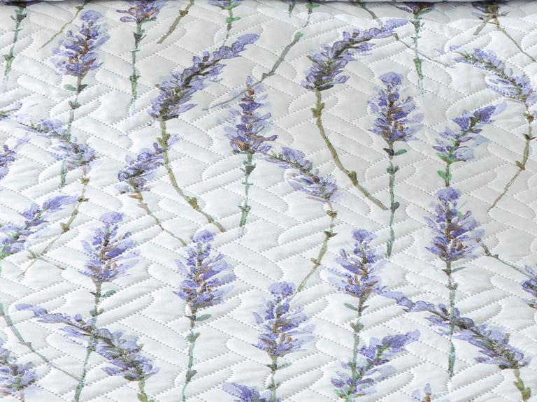 Lavender Tek Kişilik Çok Amaçlı Yatak Örtüsü 160x220 Cm Lila