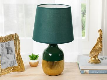 Elegant Abajur 25x25x41,5 Cm Yeşil-gold