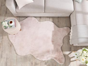 Solid Rabbit Polyester Post 80x150 Cm Pudra
