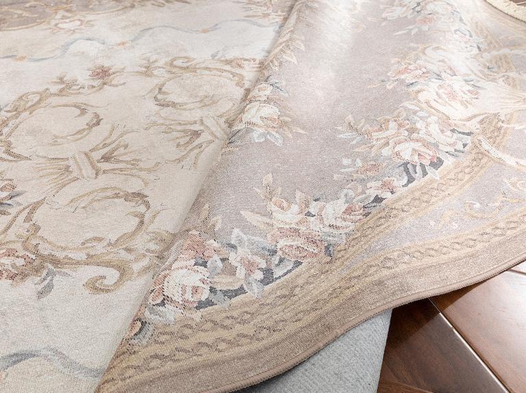 Silk Touch Ashley Kadife Halı 120x180 Cm Açık Kahve