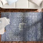 Silk Touch Tony Kadife Halı 160x230 Cm Lacivert