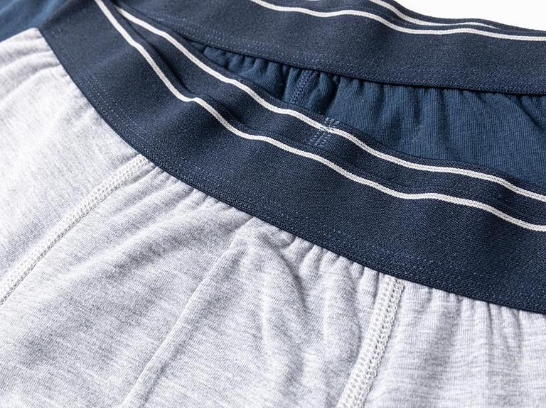 Comfort Cotton Pamuklu Erkek 2'li Boxer L Lacivert-Gri