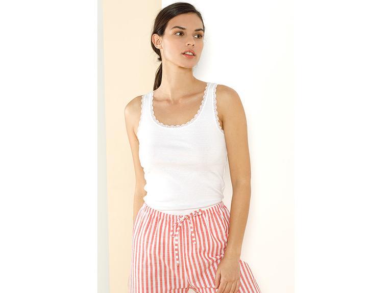 Basic Cotton Kalın Askılı Pamuk ATLET XL Beyaz