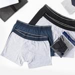 Comfort Cotton Pamuklu Erkek 2'li Boxer XL Lacivert-Gri