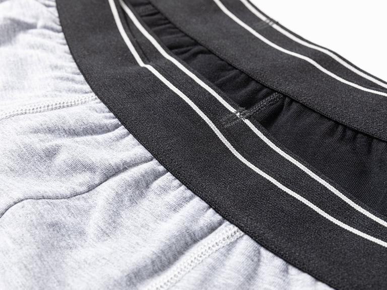 Comfort Cotton Pamuklu Erkek 2'li Boxer S Siyah - Gri