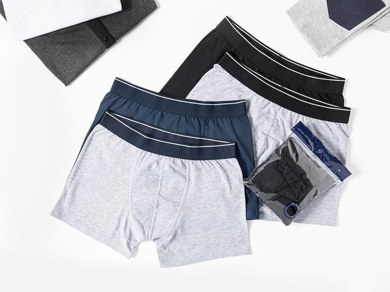 Comfort Cotton Pamuklu Erkek 2'li Boxer XL Siyah - Gri