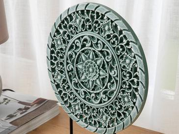Revan Dekoratif Obje 25x6x31cm Yeşil