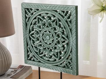 Ornament Dekoratif Obje 23x6x31cm Yeşil