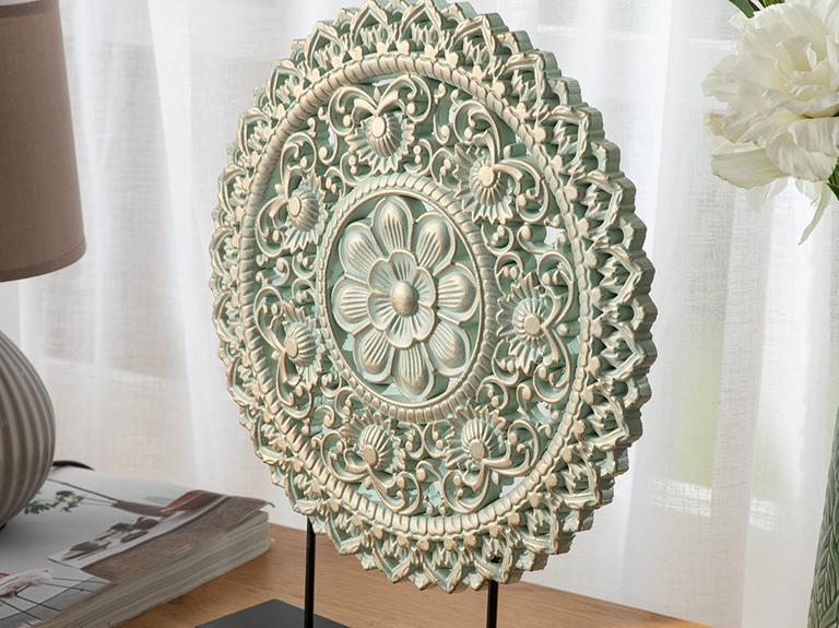 Rita Dekoratif Obje 30x6x37cm Bej