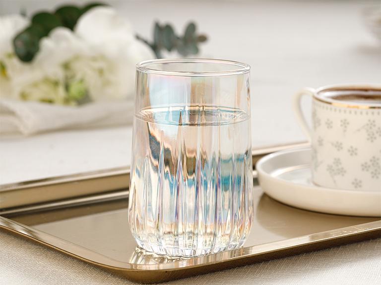 Rio Cam 6'lı Kahve Yanı Su Bardağı 135 Ml Renkli