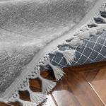 Puffy Peluş Halı 80x150 Cm Antrasit