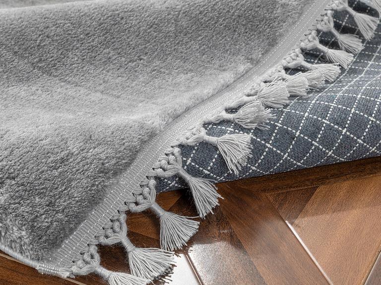 Puffy Peluş Halı 120x180 Cm Antrasit