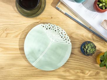 Dandelion Dekoratif Tabak 20.6x20.6x2.4 Cm Yeşil