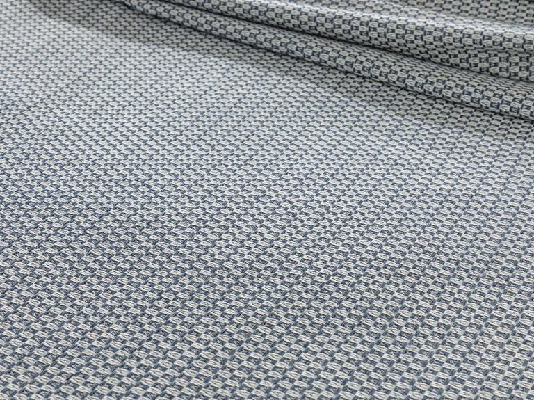 Shaped İpliği Boyalı Çift Kişilik Pike 200x220 Cm Lacivert