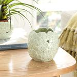 Hortensia Porselen Dekoratif Kase 11.4*11.4*11 Cm Yeşil