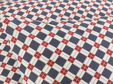 Oxford Pamuklu 2'li Yastık Kılıfı 50x70 Cm Lacivert