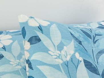 Summer Garden Pamuklu 2'li Yastık Kılıfı 50x70 Cm Mavi