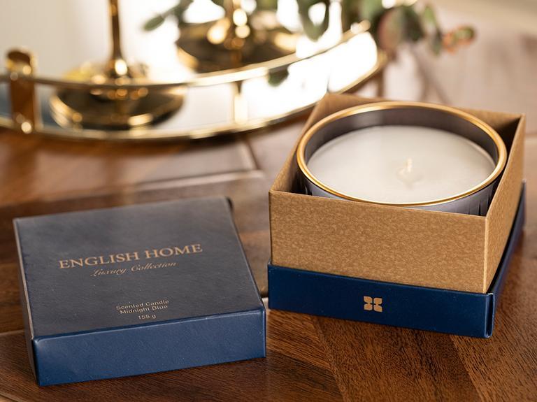 Luxury Kokulu Mum 155 G Gece Mavisi