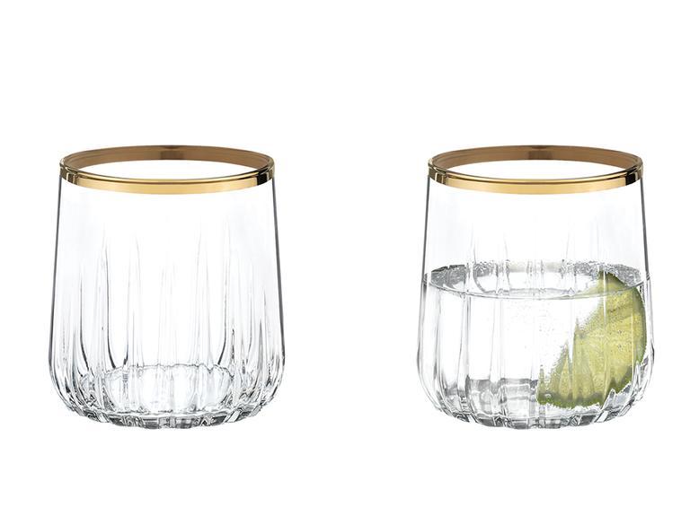 Puget Cam 4'lü Meşrubat Bardağı 310 Ml Gold