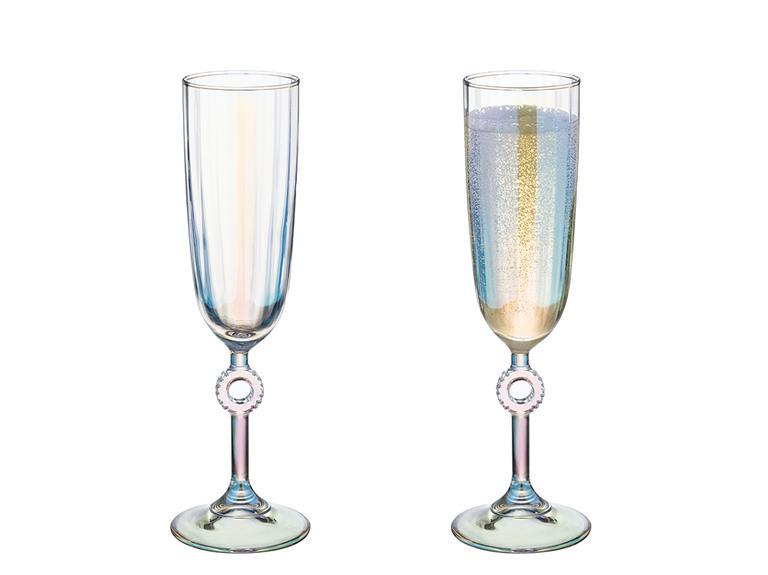 Rio Cam 2'li Şampanya Kadeh 150 Ml Renkli