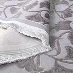 Velvet Ginkgo Kadife Halı 120x180 Cm Gri