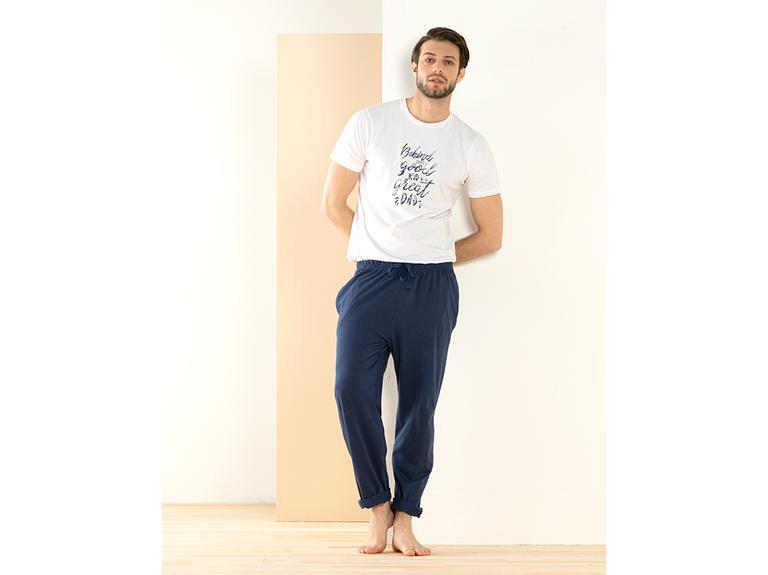 Father & Son Pamuk Pijama Takımı S Lacivert