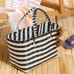 Hand Bag Çanta 28.5 X 14.5 X 22 Siyah - Beyaz