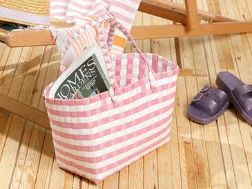 Hand Bag Çanta 28.5 X 14.5 X 22 Beyaz - Pembe