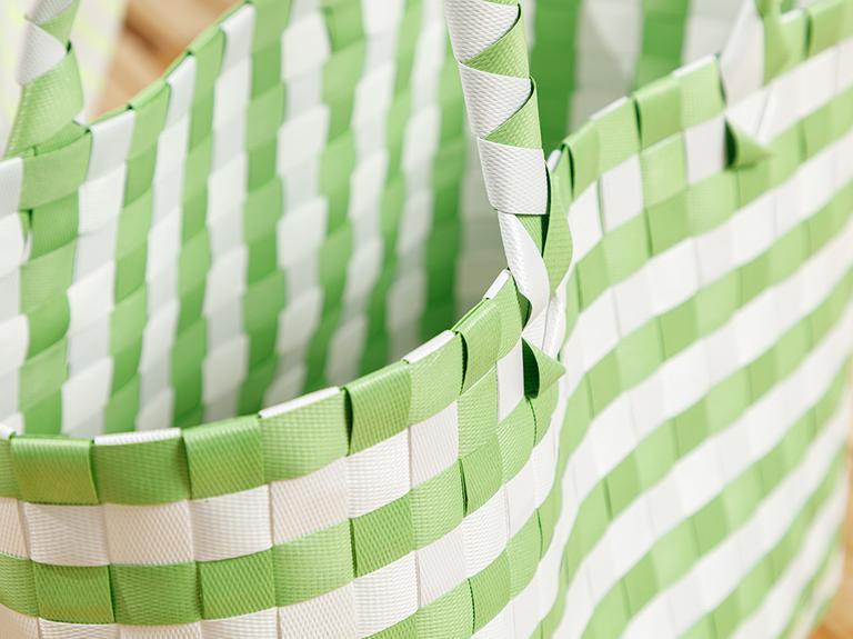 Hand Bag Çanta 28.5 X 14.5 X 22 Beyaz - Yeşil