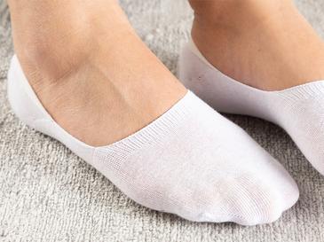Regular Pamuk 2'li Babet Çorap Beyaz