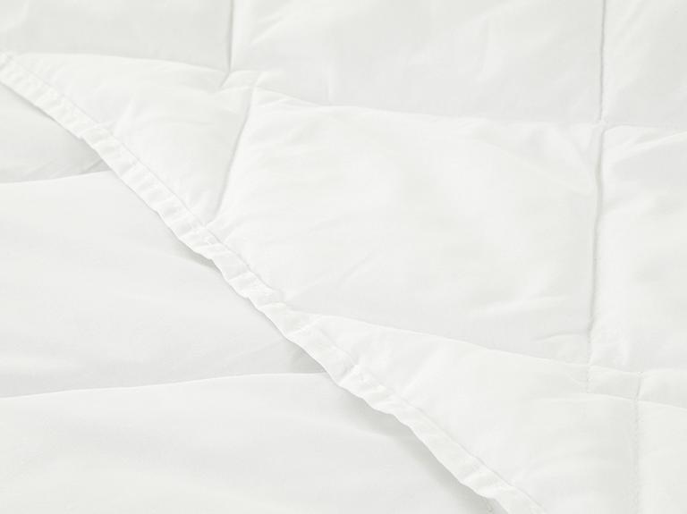 Comfort Slim Mikrofiber Tek Kişilik Yastık Yorgan Takımı 155x215 Cm Beyaz