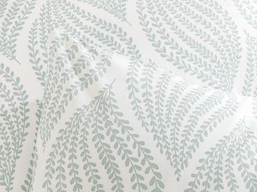 Leafy Braid Pamuklu 2'li Yastık Kılıfı 50x70 Cm Seledon