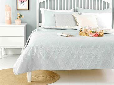 Deltoid Çift Kişilik Çok Amaçlı Yatak Örtüsü 200x220 Cm Sarı