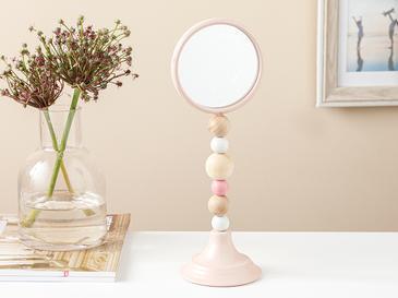 Bella Ayna 9,5x9,5x27,5cm Pembe