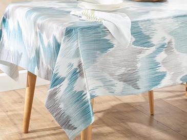 Cloudy Pvc Masa Örtüsü 100x140 Cm Beyaz