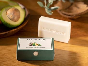 Avokado Yağı & Hindistan Cevizi Yağı Doğal Sabun 100 Gr Beyaz