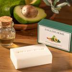 Avokado Yağı & Badem Yağı Doğal Sabun 100 Gr Bej