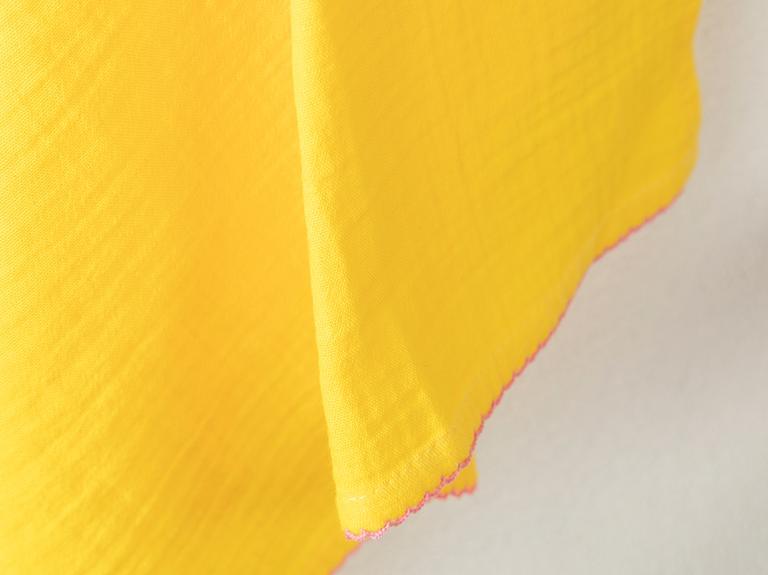 Müslin Pamuk Kurulama Bezi 40x60 Cm Sarı