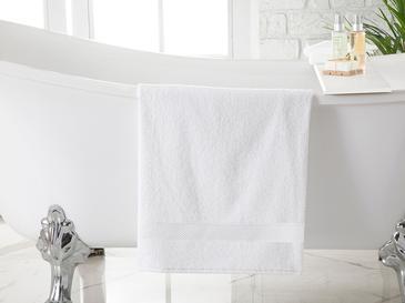Wave Fluffy Banyo Havlusu 100x150 Cm Beyaz