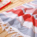 Sea Dreams Plaj Havlusu 75X150 Cm Kırmızı - Lacivert