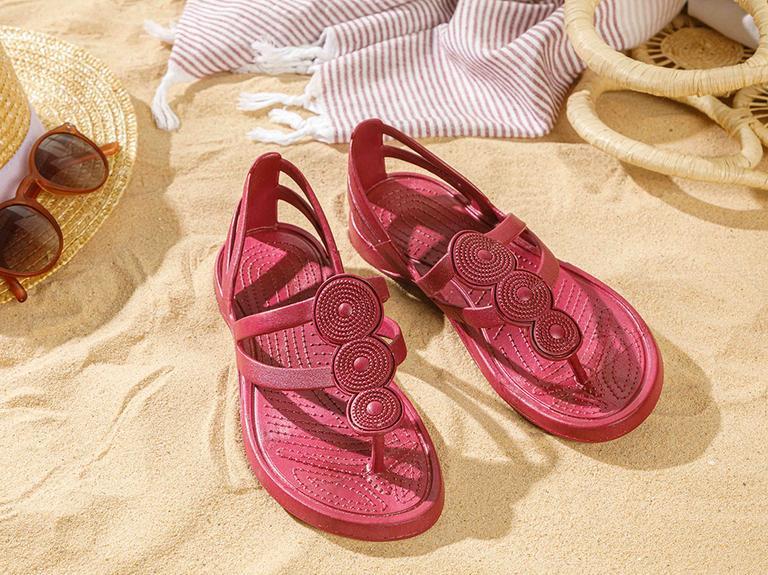Tropical  Plaj Terliği 36 Bordo