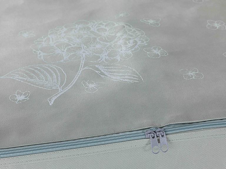 Hortensia Hurç 30x22x18 Cm Açık Gri