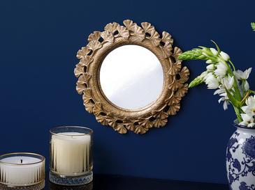 Gingko Ayna 22.5x22.5x2cm Gold