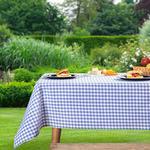 Petit Plaid Pamuklu Piknik Örtüsü 160x160 Cm Leylak