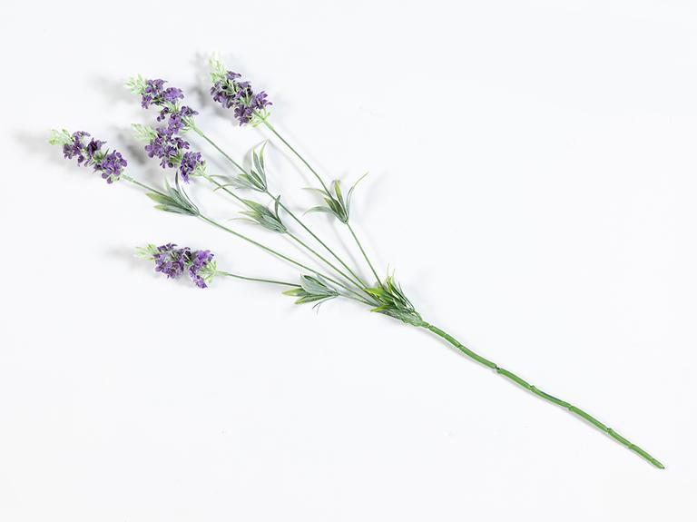 Lavender Field Tek Dal Yapay Çiçek 73 Cm Mor