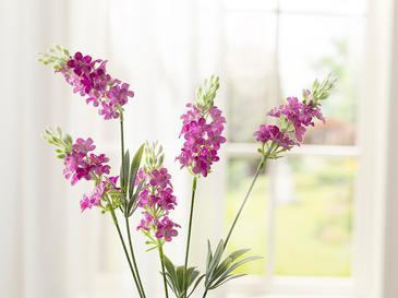 Lavender Field Tek Dal Yapay Çiçek 73 Cm Pembe