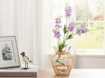Lavender Field Tek Dal Yapay Çiçek 73 Cm Lila