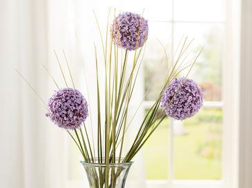 Grass Bush Tek Dal Yapay Çiçek 63 Cm Lila